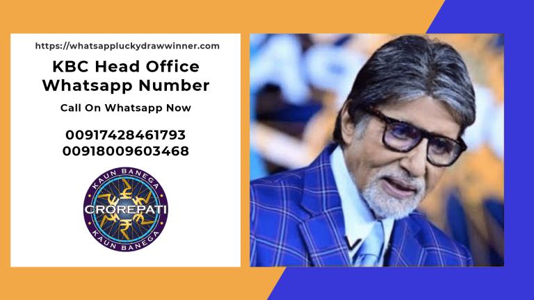 kbc-head-office-whatsapp-number